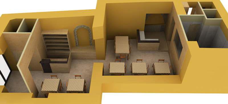 Industrial interior design - Progettazione D Interni Ristorante Pizzeria