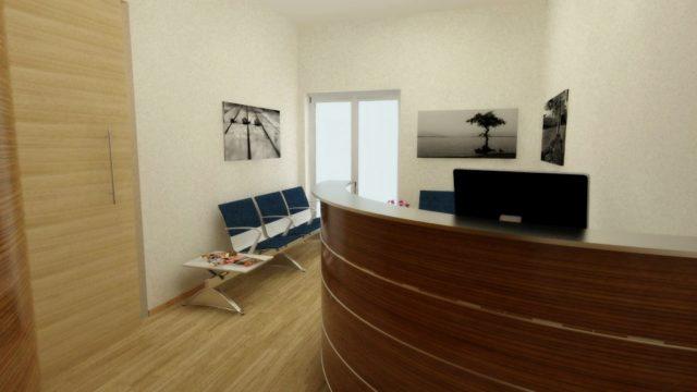 Progettazione d'interni  Studio Dentistico