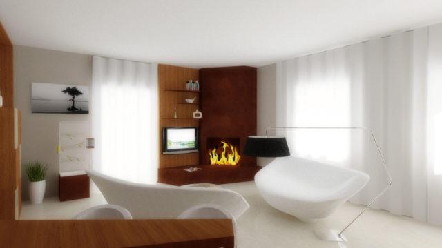 Progettazione d'interni  casa privata